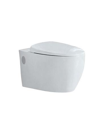 Биде напольное Jaguar Vignette VGS-WHT-81151 компактный дизайн ванной комнаты