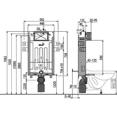 alcaplast AM115/1000E